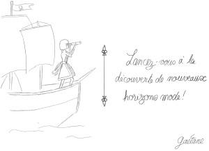 découverte de nouveaux horizons mode