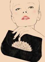 Chloe Pochette éventail fall/winter 1979 Karl Lagerfeld