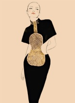 Chloe Robe violon spring/summer 1983 Karl Lagerfeld