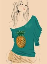 Chloe Top ananas spring/summer 2001 Stella McCartney