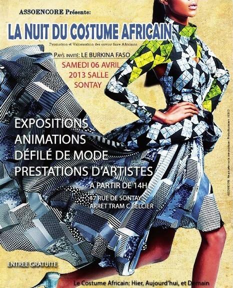 la nuit du costume africain bordeaux