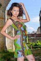 Rosa M Artiste installée à Bordeaux d'origine angolaise